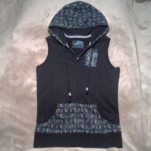 Nollie Hoodie Sweatshirt Vest
